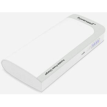Powerseed záložní baterie PS-13000, kapacita 13000mAh, šedo-bílá