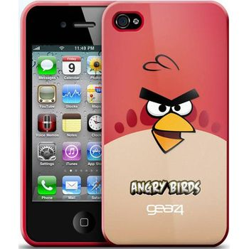 Gear4 pouzdro pro iPhone 4 Angry Birds Red