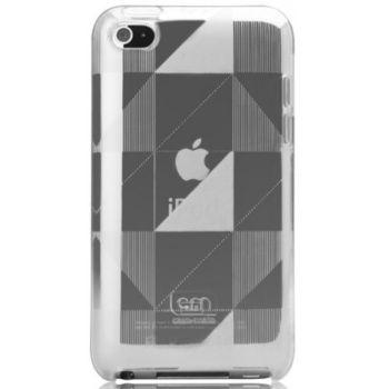 Case Mate pouzdro Gelli Case - Checkmate Grey pro  iPod Touch 4th Gen.