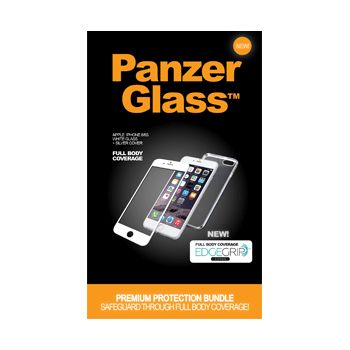PanzerGlass ochranné sklo Bundle pro Apple iPhone 6/6s, displej + tělo, bílé