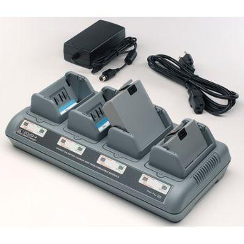 Zebra nabíječka Li-Ion, Euro pro 4 baterie P4T/RP4T AC18177-2