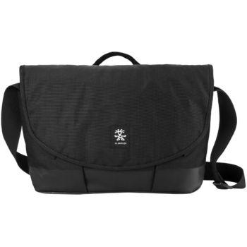 """Crumpler Private Surprise Slim M nylonová taška 13"""" - černá/černá"""
