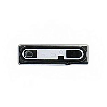 Náhradní díl kryt microUSB pro Sony D6503 Xperia Z2, bílá