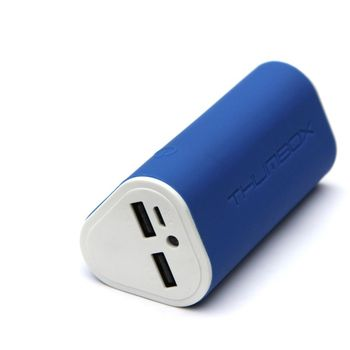 Thumbox záložní baterie 7800mAh - modrá