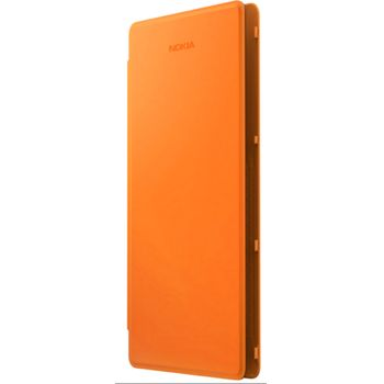 Nokia CP-627 flipové pouzdro Nokia Lumia830, oranžová