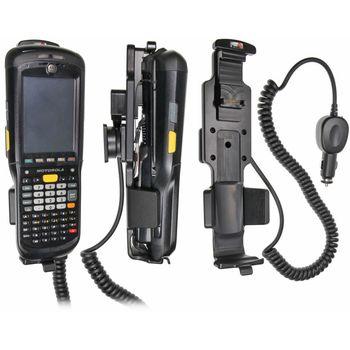 Brodit držák do auta na Motorola (Symbol) MC9500 bez pouzdra, s nabíjením z cig. zapalovače
