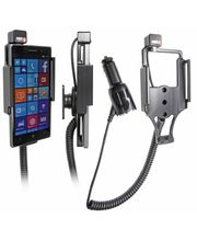 Brodit držák do auta na Nokia Lumia 830 bez pouzdra, s nabíjením z cig. zapalovače
