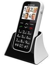 Aligator C100 - mobilní telefon pro seniory s lokátorem
