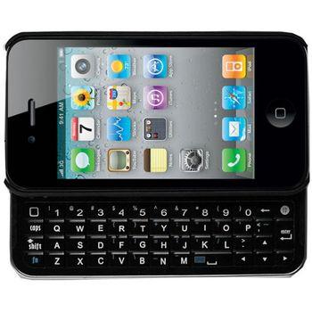 Aligator Bluetooth klávesnice slide QWERTY pro iPhone 4/4S, černá