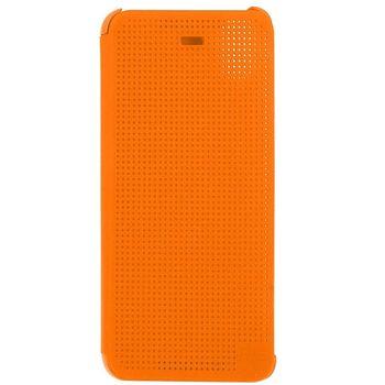 HTC flipové pouzdro Dot Flip HC M180 pro HTC Desire A32, oranžová