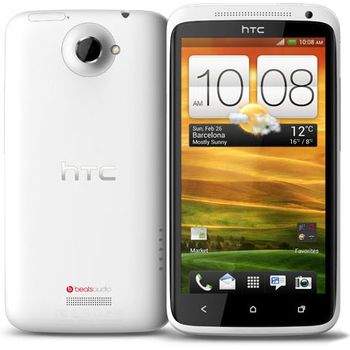 HTC One X bílá + antireflexní fólie na displej Brando