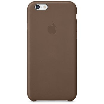 Apple kožený kryt pro iPhone 6, hnědá