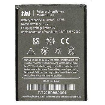 THL baterie pro BL-07, Li-Ion 4000 mAh