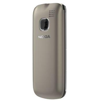 Nokia C1-01 Warm Grey + pouzdro Krusell Gaia černé