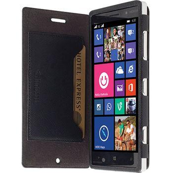 Krusell pouzdro FlipCase Malmö - Nokia Lumia 830, černá