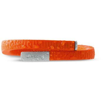 Jawbone UP24 náramek monitorující denní aktivitu, velikost L, oranžová