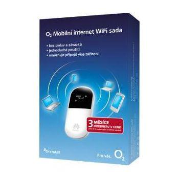 O2 Mobilní internet - SIM + WiFi Modem + 3 měsíce