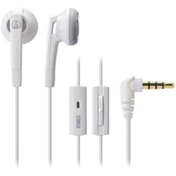Audio Technica sluchátka ATH-C505XPWH pro telefony SE Xperia, bílá