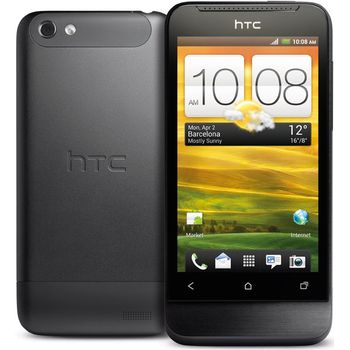 HTC One V šedý + autonabíječka