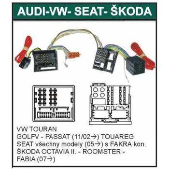 Parrot kabelová redukce Octavia II, Roomster, Fabia II (07-), Golf V, Passat (11/02-), Seat (05-)