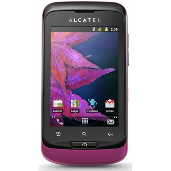 Alcatel One Touch 918D Dual-Sim černý/fuchsia