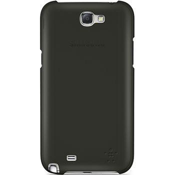 Belkin Shield Sheer pevné ochranné pouzdro pro Galaxy Note II, černá (F8M505vfC00)