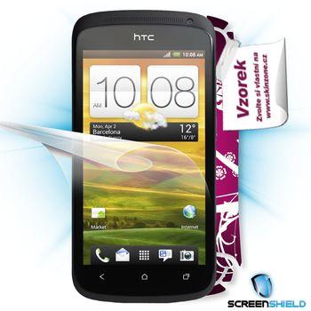 Fólie ScreenShield HTC One S - displej+voucher na skin