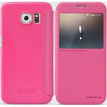 Nillkin flipové pouzdro Sparkle S-View pro Samsung G920 Galaxy S6, růžové