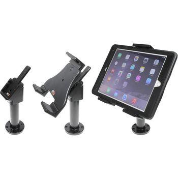 Brodit sestava otočného montážního podstavce, MultiMove clipu a nastavitelného držáku pro tablet, 140-195mm, bez nabíjení (215856)